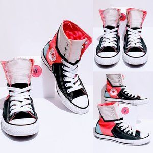 Converse All Star Super-Hi Color Block size 6🦄💋
